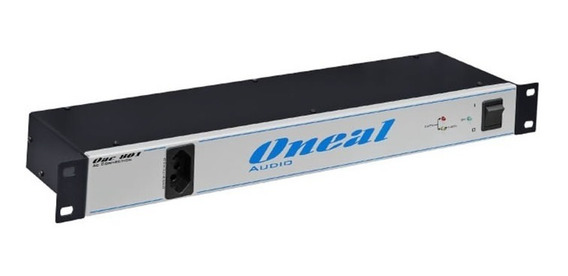 Regua Ac Oneal Oac 801 Painel De Energia 8+1 Tomadas- Bivolt