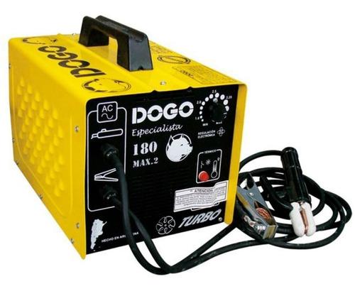 Imagen 1 de 9 de Soldadora Electrica Dogo 180 Max Especialista Cobre 180 Amp