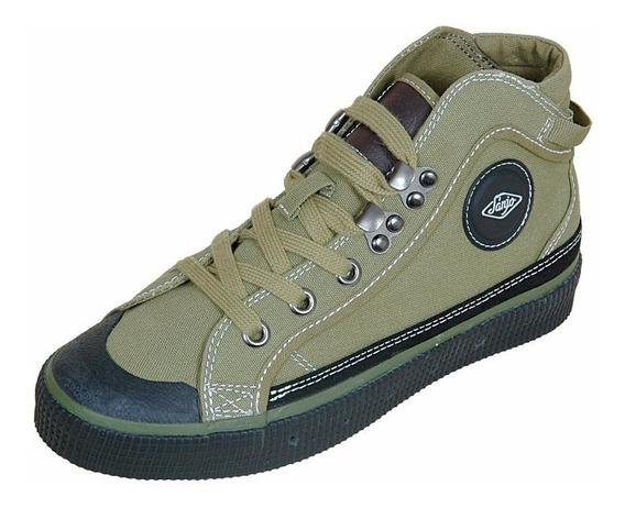 Botas/zapatillas Sanjo Verde (vencambio X Converse All Star)