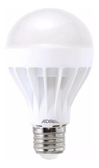 Foco Tipo Bulbo Econo Power 2942-b Luz Blanca 9w Adir