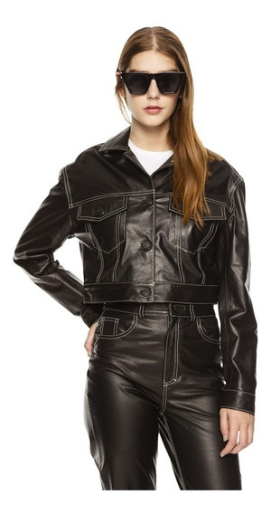 Campera Lannister Impermeable Cuero Mujer Complot