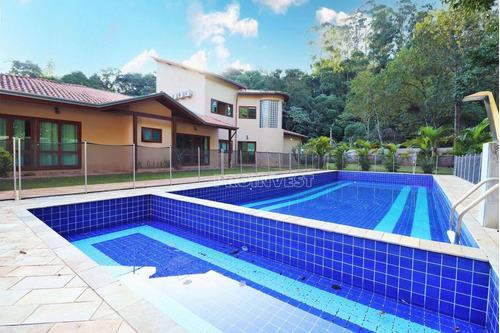 Imagem 1 de 30 de Casa Térrea Com 5 Dormitórios Em Condomínio Na Granja Viana Km 23, 3.348 M² - Ca11051