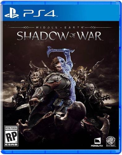 Imagen 1 de 1 de Shadow Of War - Ps4 Fisico Nuevo & Sellado