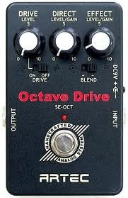 Pedal De Efecto Para Guitarra Artec Se-oct Octave Drive