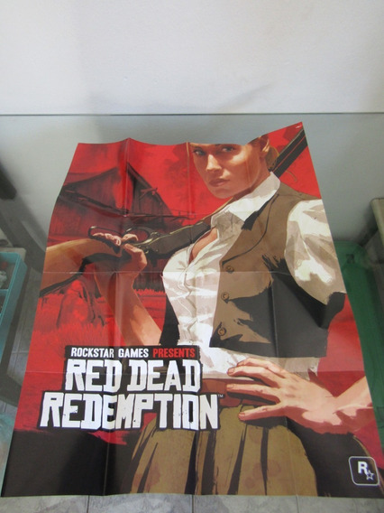 Mapa Red Dead Redemption - Ps3 - Frete Cr R$ 8,98