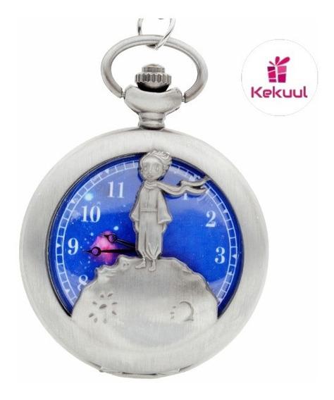 El Principito Reloj Vintage Bolsillo