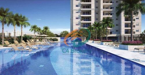 Imagem 1 de 13 de Apartamento Bosque Maia, 70,52m² 2 Vagas, 3 Dormitórios Com 1 Suíte. - Ap0137