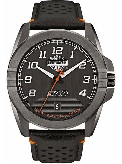 Reloj Harley Davidson Street Para Hombre Original 78b143