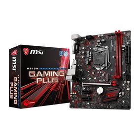 Placa Mãe Micro-atx Msi H310m Gaming Plus 8ª Geração 1151