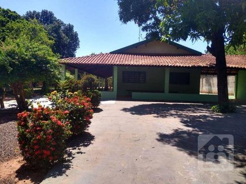 Imagem 1 de 14 de Chácara Com 4 Dormitórios À Venda, 5200 M² Por R$ 850.000 - Chácaras Versalhes - Araçatuba/sp - Ch0022