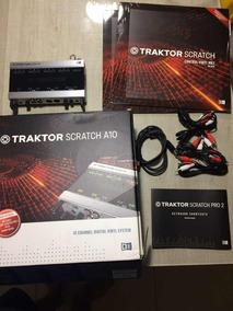 Interface De Áudio Tracktor Scratch A10 Native Instruments