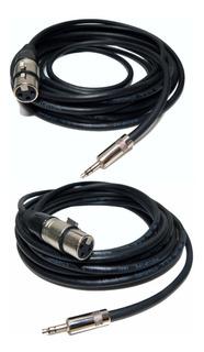 Cable Para Mic Rode Canon Hembra A Miniplug X 6 Mts