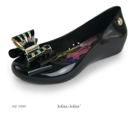 Sapatilha Infantil Miss Miss Laço Espelho Ref.10085