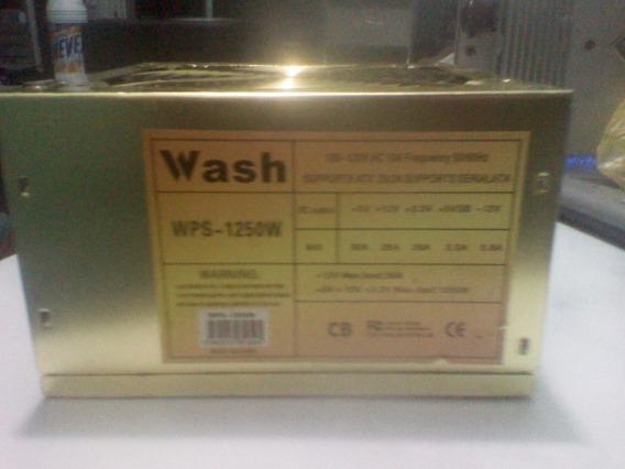 Fuente De Poder 1250w Wash