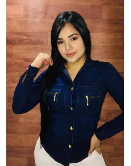 Hermosas Blusas En Jeans!!! Wesp !!!!