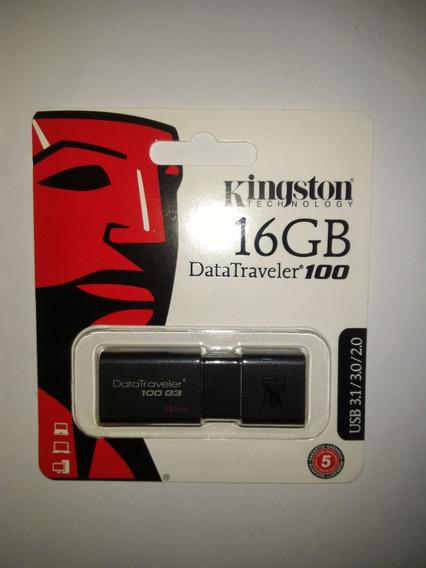 Kingston Datatraveler Dt100 G3 16gb Prota Entrega