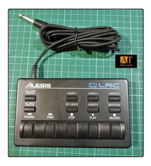 Alesis Lrc Controle Remoto Adat Black Face Xt Tx20 Lx Lx20.