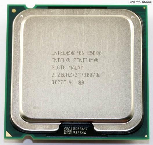 20x Processador Intel Pentium Dual Core E5800 3.20ghz Lga775