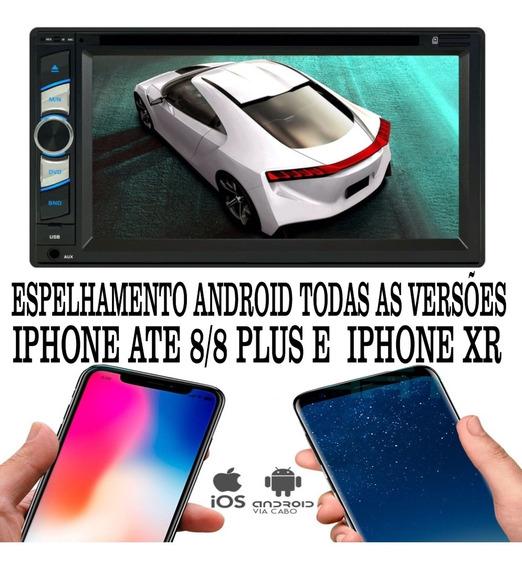 Dvd Player 2 Din E-tech Bluetooth Usb Sd
