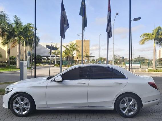 Mercedes-benz C 180 - 2015 1.6 Cgi Avantgarde Turbo Blindada