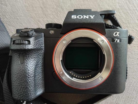 Sony Alpha A 7ii + 3 Lentes + Grip + 2 Baterias