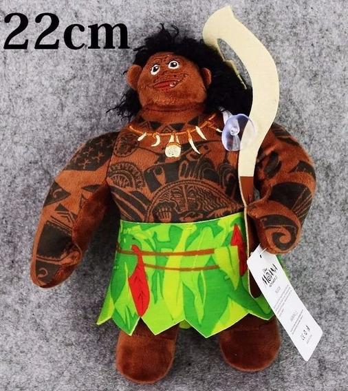 Boneco Pelucia Maui 22cm Filme Moana Disney Pronta Entrega