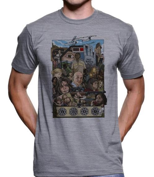 Camiseta Lost Ilha Iniciativa Dharma Série Mr Robot 2427