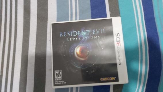 Resident Evil Revelations Nintendo 3ds Mídia Física Completo