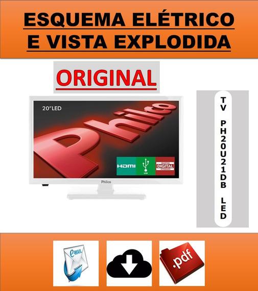 Esquema Elétrico Tv Philco Ph20u21db Led
