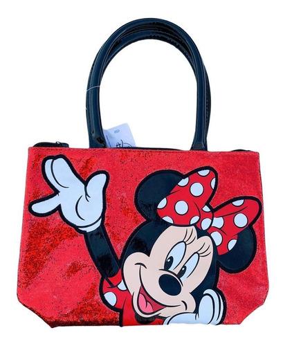 Imagen 1 de 3 de Bolso Minnie Para Niña Nuevo Y Original Rojo