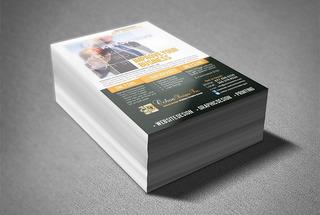 5000 Panfletos Flyer 14x10 Cm - 4x0 - 4x1 - 4x4 Cores