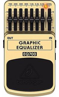 Behringer Eq700 Pedal Guitarra Ecualizador Gráfico 7 Bandas