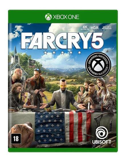Far Cry 5 Xbox One Mídia Física Usado