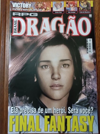 Revista Rpg Dragão 76 + Pôster Duplo