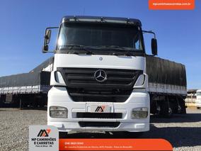 Caminhão 2540 Axor Mercedes-benz Teto Baixo 6x2 Ano 2007