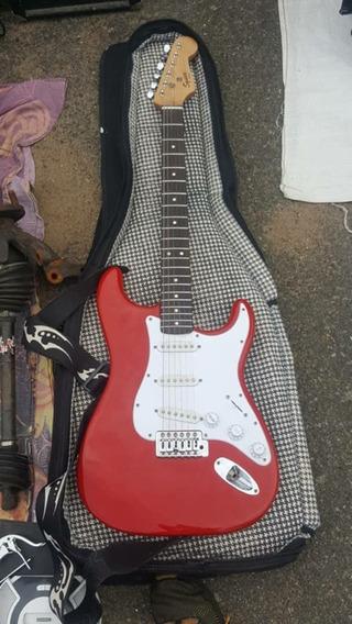 Combo Guitarra Squier Strat - Amplificador Y Pedalera