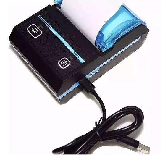 Mini Impressora Portatil Bluetooth Termica Kp-1020 Knup