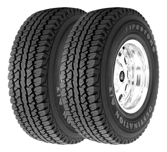 Kit 2 Pneus 265/75r16 Firestone Destination A/t 123r