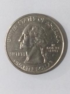 Moeda Colorado Quarter Dollar 1876