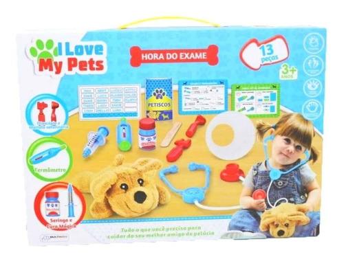 Imagem 1 de 2 de Brinquedo Infantil  My Pets - Hora Do Exame Multikids Br1216