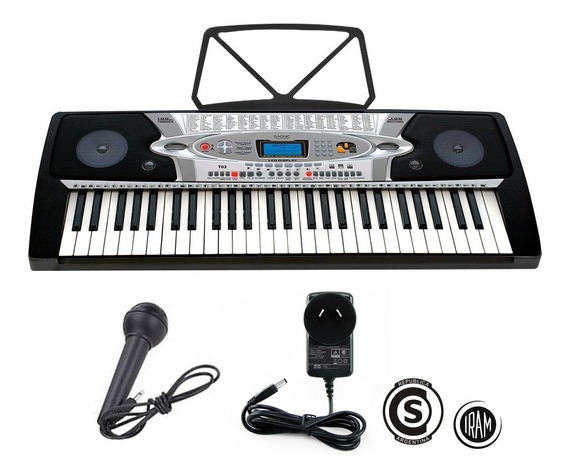 Teclado Electronico Gadnic T02 Cargador Homologado Musica