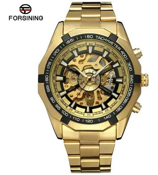 Relógio Forsining Wa175 Esqueleto Automático