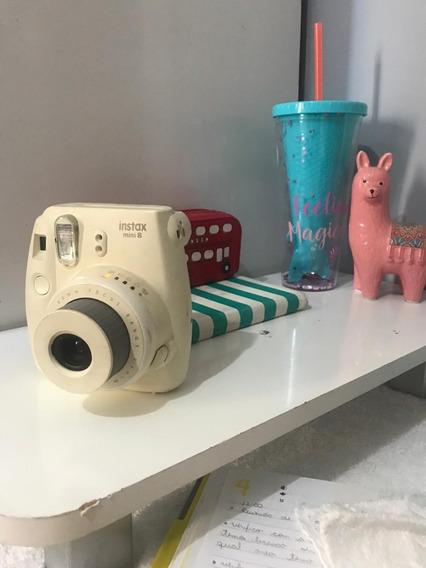 Câmera Fujifilm Instax (decorativa Ou Uso De Peças)
