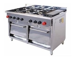 Cocina 6 Platos/2 Horno/1 Churrasquera, Bozzo, Gastronomia,