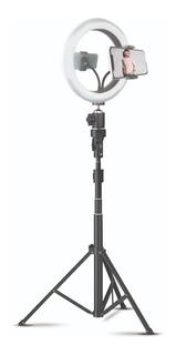 Aro Anillo Selfie 10 Luz Led Trípode Soporte Celular Cuotas
