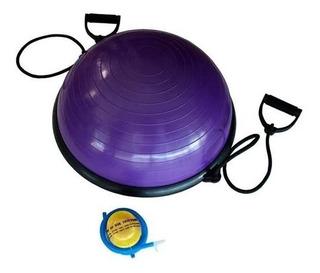 Bosu Ball Media Pelota + 2 Ligas + Inflador