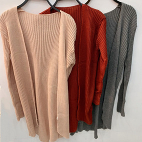 Blusa De Frio Kimono Cardigan Suéter Lã Tricot B10