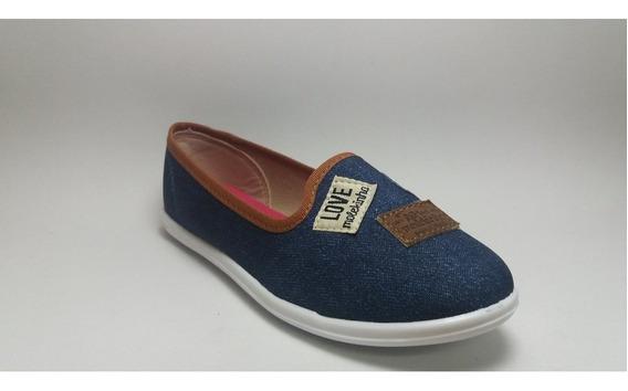 Alpargata Molekinha Jeans