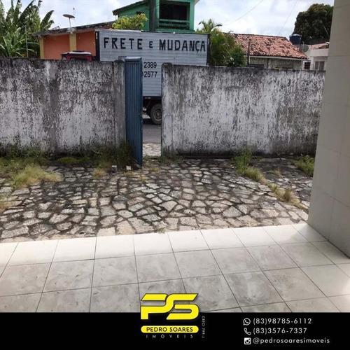 Casa Com 6 Dormitórios Para Alugar, 660 M² Por R$ 4.000,00/mês - Jaguaribe - João Pessoa/pb - Ca0622