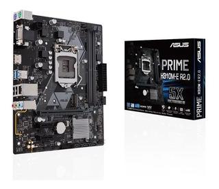 Placa Madre Asus Intel Lga1151 H310 Para 8va 9na Generación